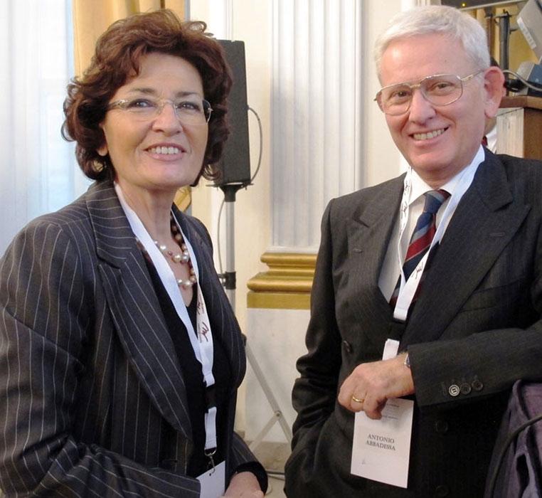 Proff. Enrica Morra (Milano) e Antonio Abbadessa (Napoli, Caserta)