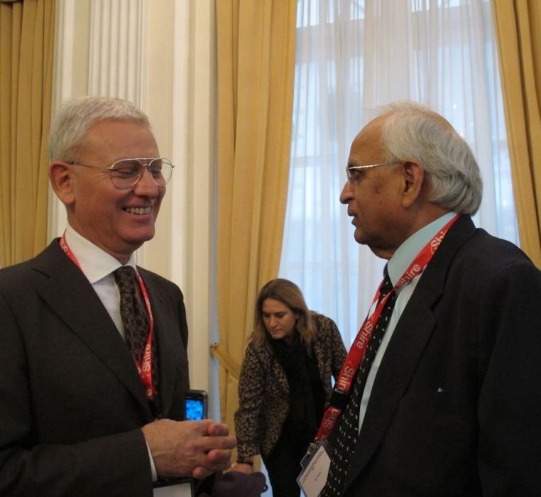 Prof. Kanti Rai, Hofstra Nortthwell School of Medicine (New York),  relatore su invito del Prof. Abbadessa