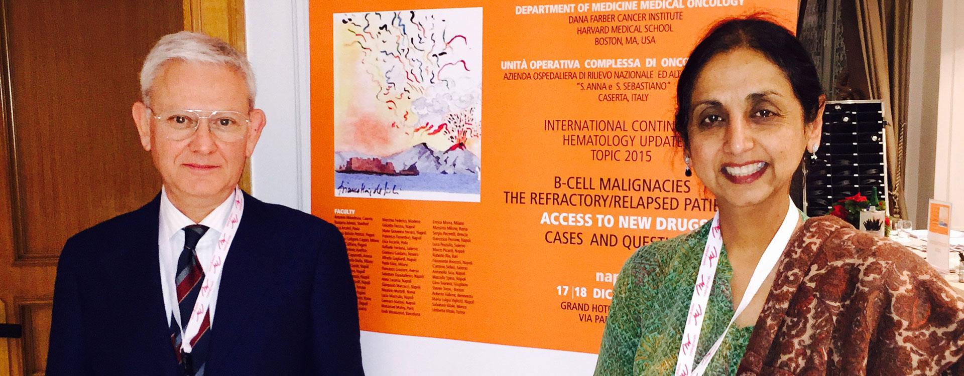 Proff. Antonio Abbadessa e Ranjana Advani